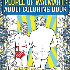 Photos of People at Walmart Coloring Book